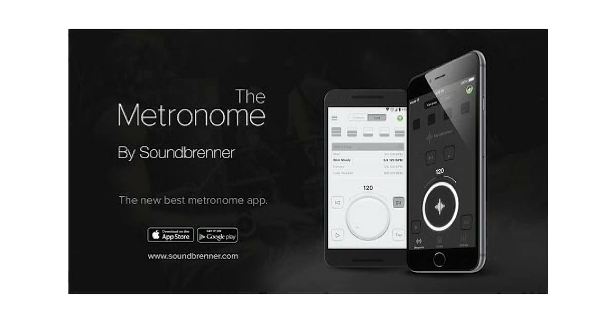 THE METRONOME APP BY SOUNDBRENNER